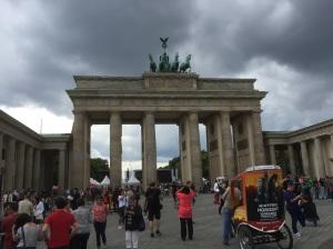 Cloudy at the Bramdenburg gate